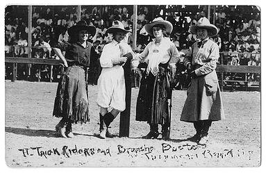 trick-riders, cattlewomen
